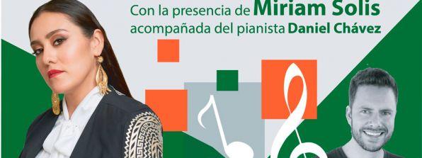 Noche de Museos-Concierto con Miriam Solis y Daniel Chávez, 30 de octubre de 2019
